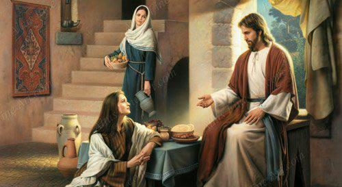 Evangelio según San Lucas 10,38-42.