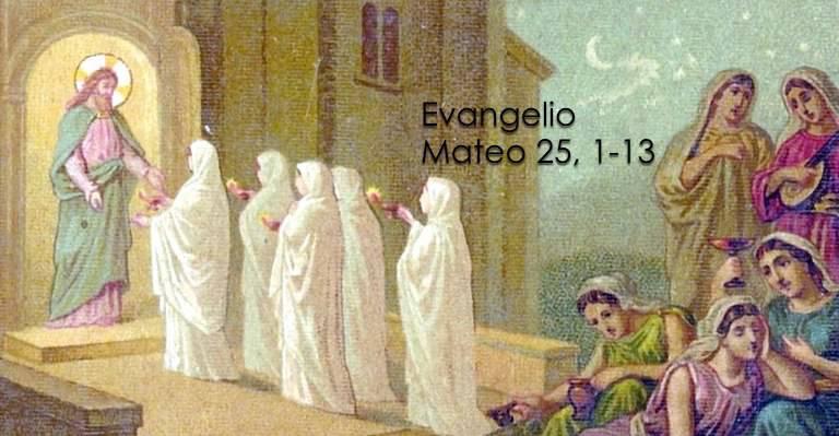 Evangelio según San Mateo 25,1-13.