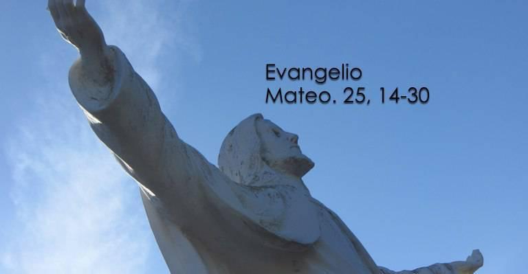 Evangelio según San Mateo 25,14-30.