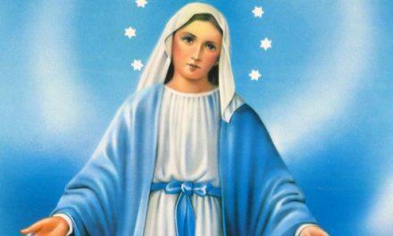 Quinto Día de la Novena a la Virgen de la Medalla Milagrosa