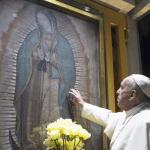 7 frases de cariño del Papa para la Virgen de Guadalupe