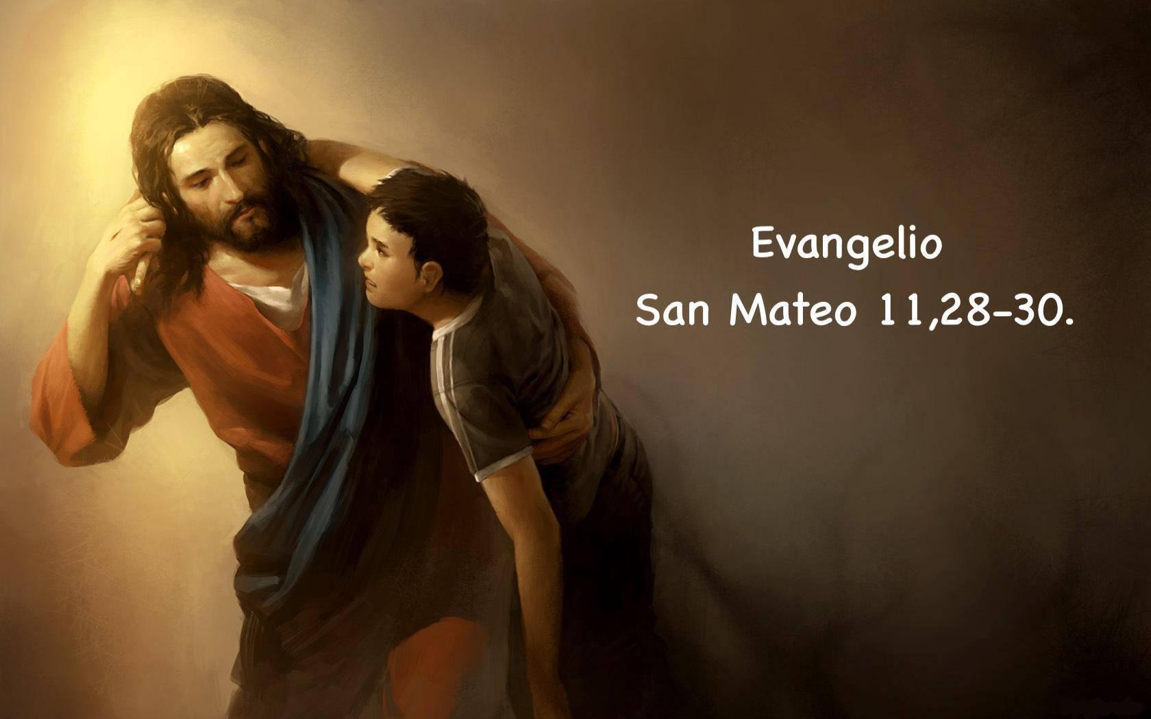 San Mateo 11,28-30.