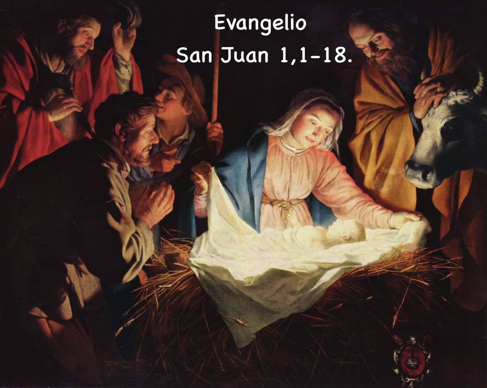 Evangelio según San Juan 1,1-18.