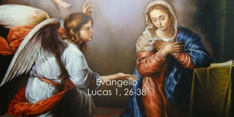 Evangelio según San Lucas 1,26-38.