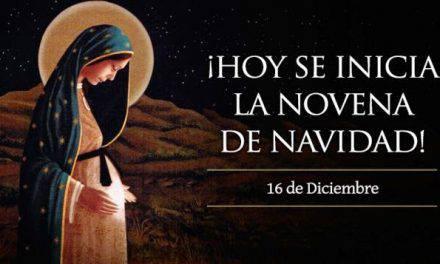 Primer Día de la Novena de Navidad
