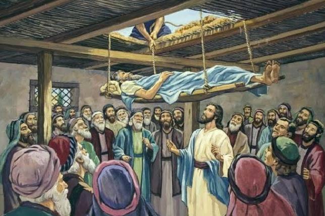 Evangelio según San Lucas 5,17-26.