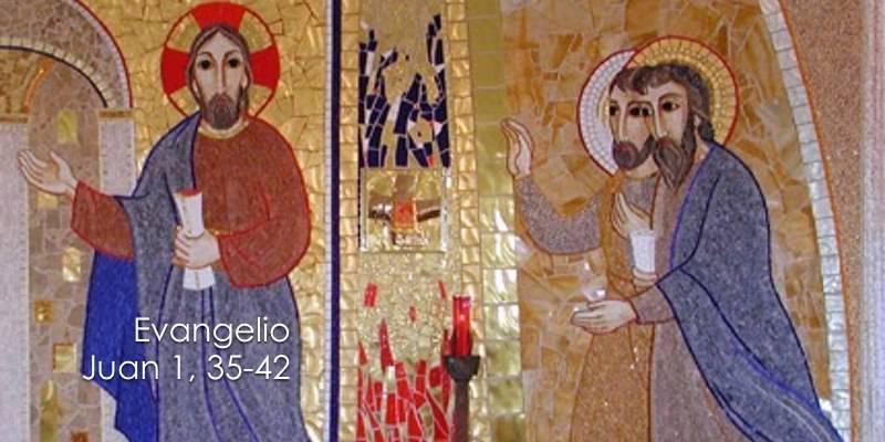 Evangelio según San Juan 1,35-42.