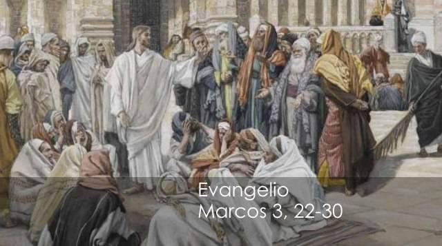 Evangelio según San Marcos 3,22-30.