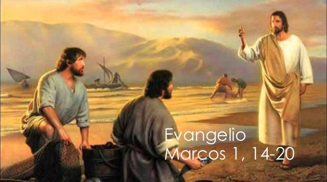 Evangelio según San Marcos 1,14-20.