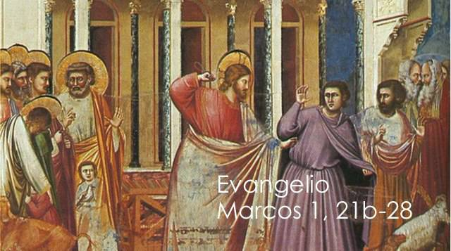 Evangelio según San Marcos 1,21-28.