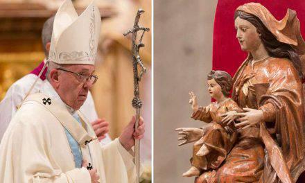 El Papa Francisco explica el secreto de la Madre de Dios