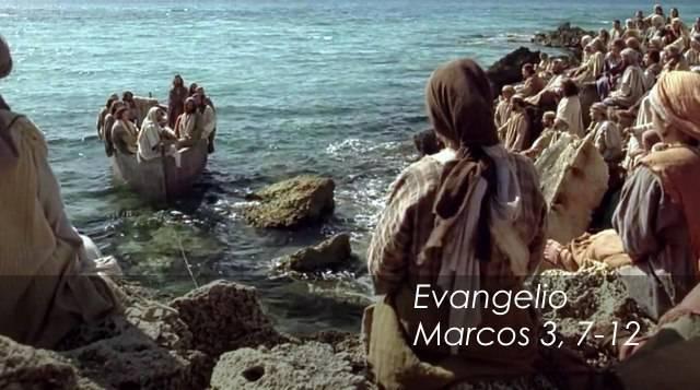 Evangelio según San Marcos 3,7-12.
