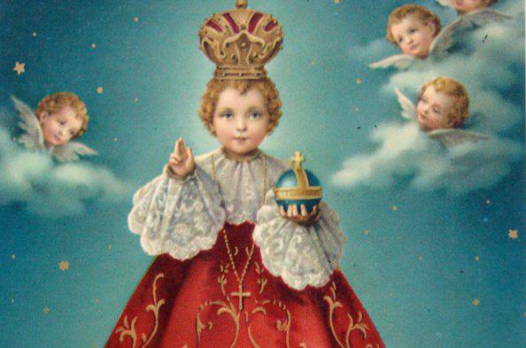 La oración de los 5 besos al Niño Jesús