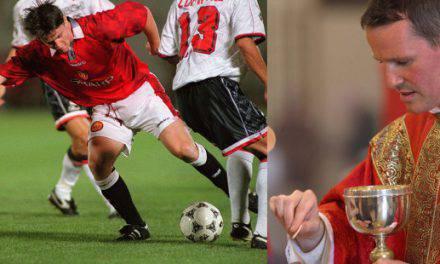 """De futbolista famoso a sacerdote: """"Vi a Jesús en hombres rotos por el alcohol"""""""