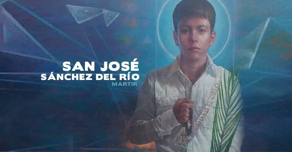 Oración para pedir la intercesión de San José Sánchez del Río