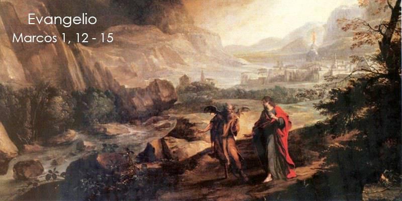 Evangelio según San Marcos 1,12-15.