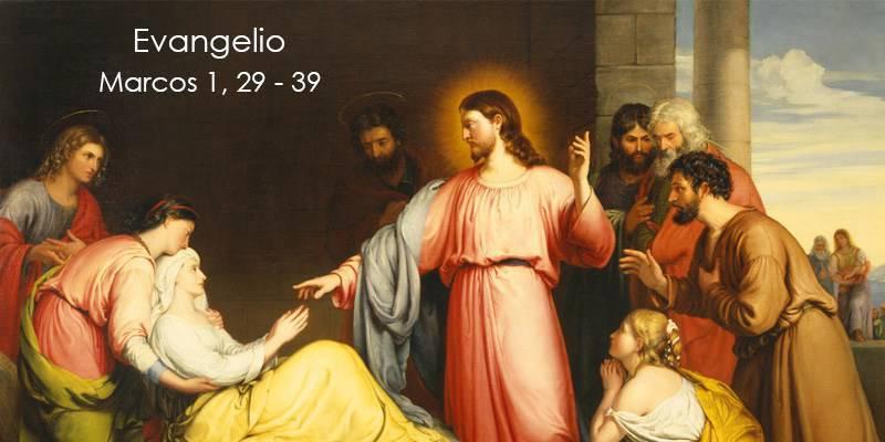 Evangelio según San Marcos 1,29-39.