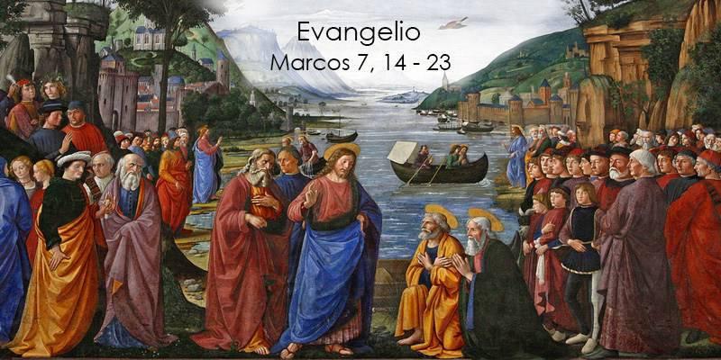 Evangelio según San Marcos 7,14-23.