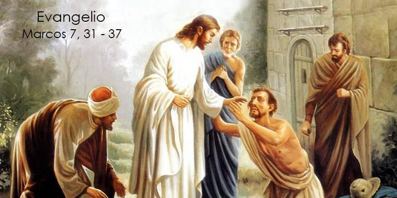 Evangelio según San Marcos 7,31-37.
