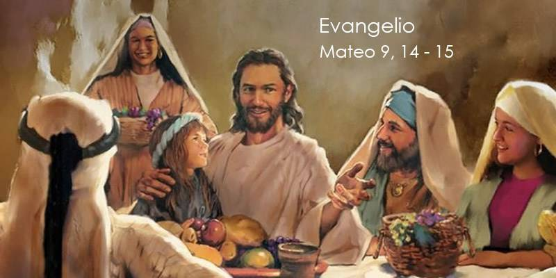 Evangelio según San Mateo 9,14-15.
