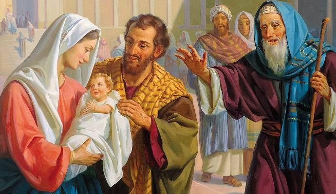Evangelio según San Lucas 2,22-40.