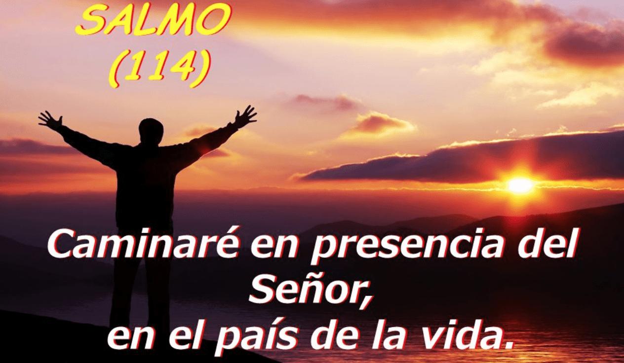 Caminaré en presencia del Señor en el país de la vida