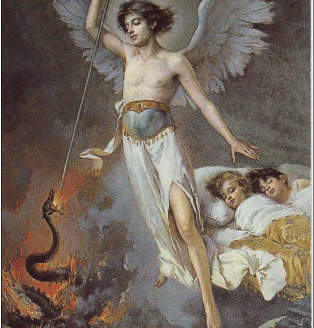 ¿Sabes cómo los ángeles nos defienden de los demonios?