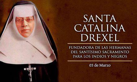 Oración a Santa Catalina Drexel, la santa que inspiró al Papa Francisco