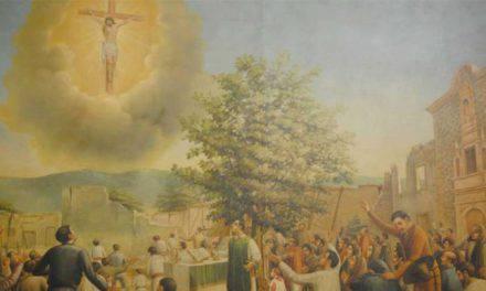 El día en que Jesús Crucificado se apareció en el cielo de México