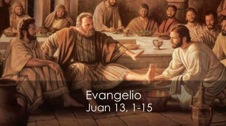 Evangelio según San Juan 13,1-15.