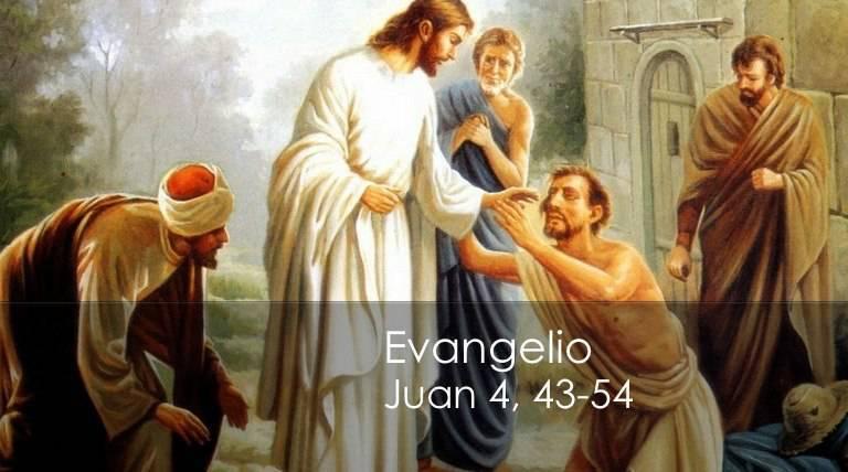 Evangelio según San Juan 4,43-54.