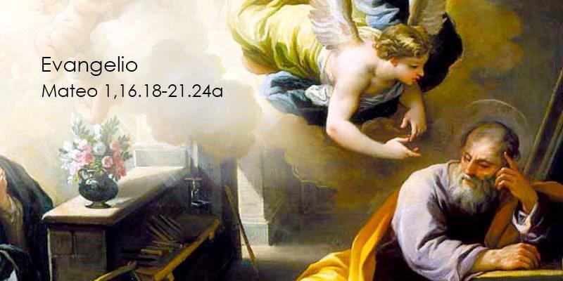 Evangelio según San Mateo 1,16.18-21.24a.