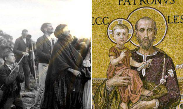 San José también estuvo en el milagro del sol de Fátima y este es su significado