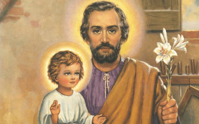 Sagrado Manto en Honor del Glorioso Patriarca San José