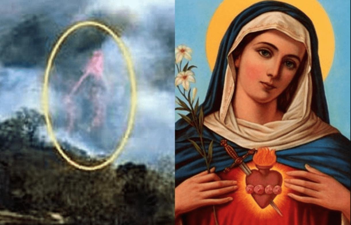 """Sacerdote capta imagen de la """"Virgen María"""""""