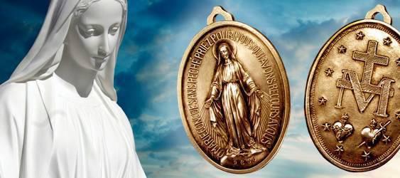 Bebé salvada por una Medalla Milagrosa