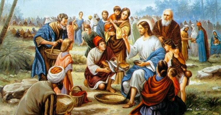 Evangelio según San Juan 6,1-15.