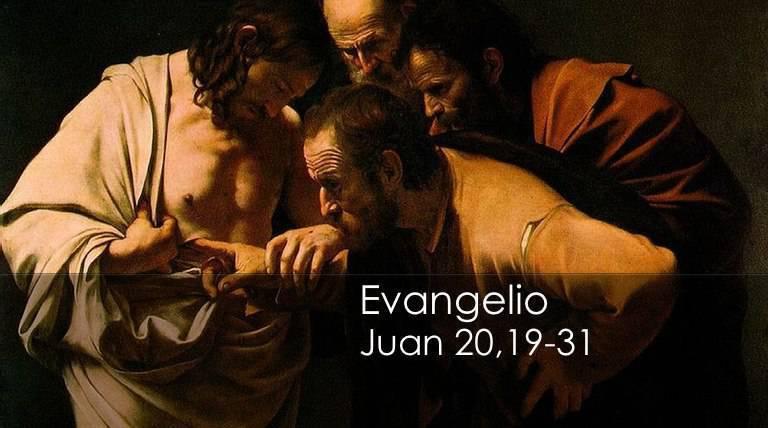 Evangelio según San Juan 20,19-31.