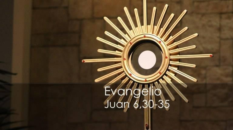 Evangelio según San Juan 6,30-35.