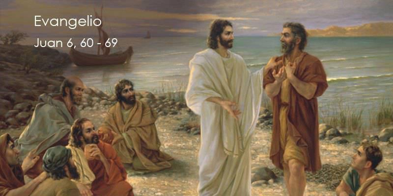 Evangelio según San Juan 6,60-69.