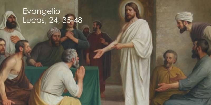 Evangelio según San Lucas 24,35-48.