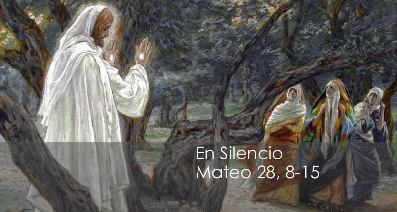 Evangelio según San Mateo 28,8-15.