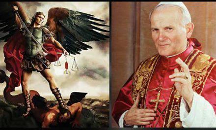 San Juan Pablo II pidió retomar la Oración a San Miguel Arcángel…