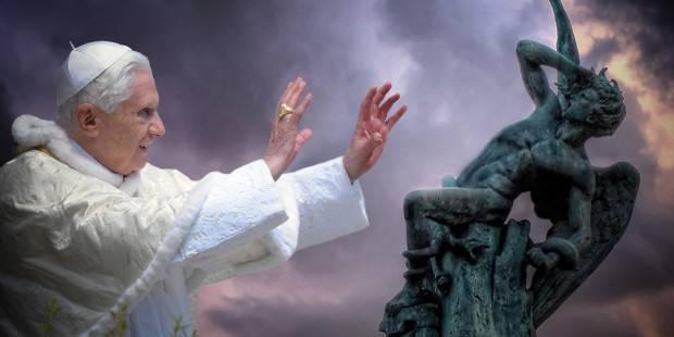Aquel singular caso en que Benedicto XVI derrotó al demonio