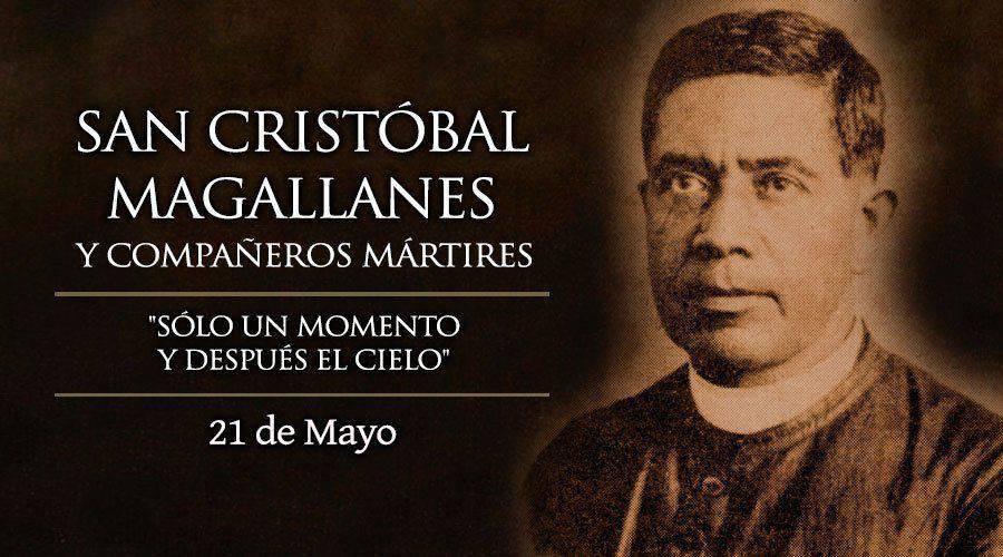Oración a San Cristóbal de Magallanes