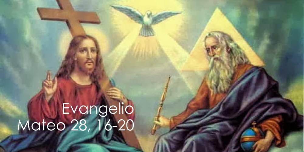 Evangelio según San Marcos28,16-20.