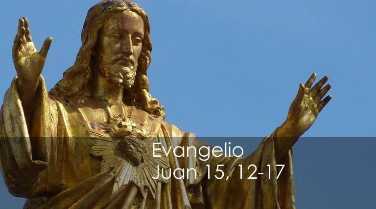 Evangelio según San Juan 15,12-17.
