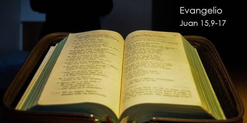 Evangelio según San Juan15,9-17.