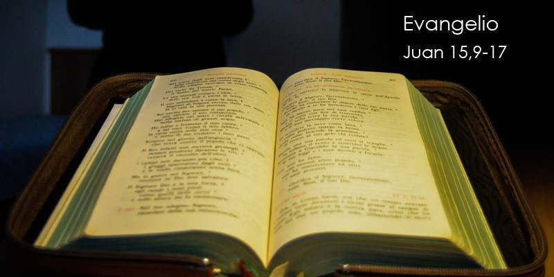 Evangelio según San Juan 15,9-17.