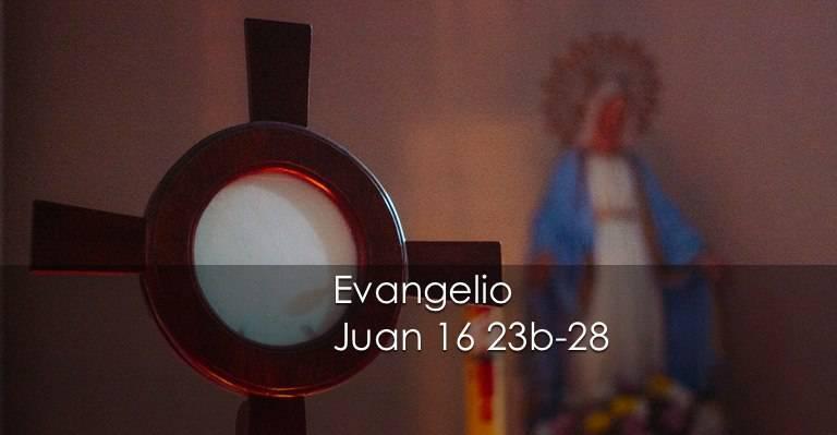 Evangelio según San Juan16,23b-28.